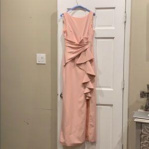 Eliza J Blush Pink Bridesmaid Prom Formal Dress